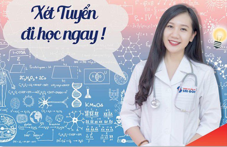 Trường Cao đẳng Dược Sài Gòn xét tuyển