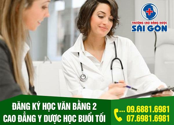 Điện thoại tư vấn tuyển sinh văn bằng 2 Cao đẳng Điều dưỡng Sài Gòn 2019