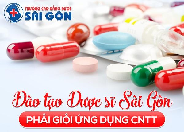 Đào tạo Dược sĩ Sài Gòn giỏi cả ứng dụng công nghệ thông tin