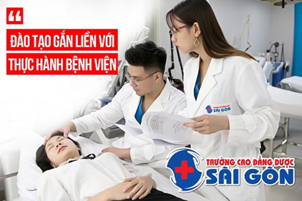 Trường Cao đẳng Dược Sài Gòn đào tạo gắn liền thực hành bệnh viện