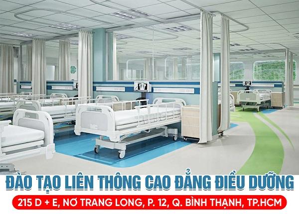 Trường Cao đẳng Dược Sài Gòn thông báo tuyển sinh Liên thông Cao đẳng Điều dưỡng Sài Gòn năm 2019