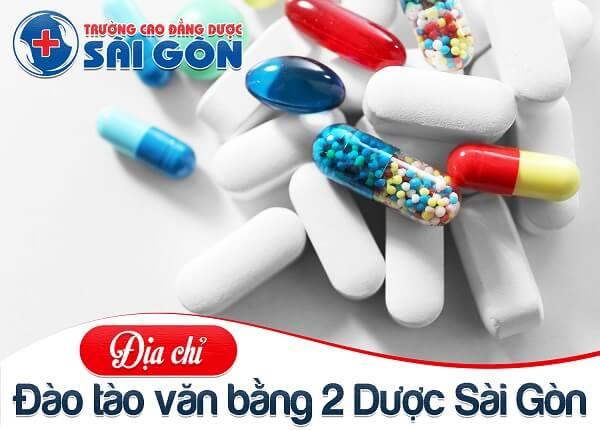 Trường Cao đẳng Dược Sài Gòn tuyển sinh đào tạo Văn bằng 2 Cao đẳng Dược chất lượng cao
