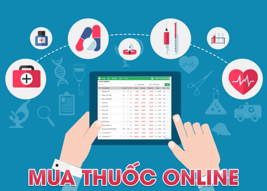Việc mua bán thuốc online cũng dễ gặp rủi ro