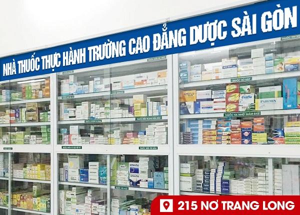 Học Cao đẳng Dược Sài Gòn được đào tạo theo mô hình Nhà thuốc - Trường học