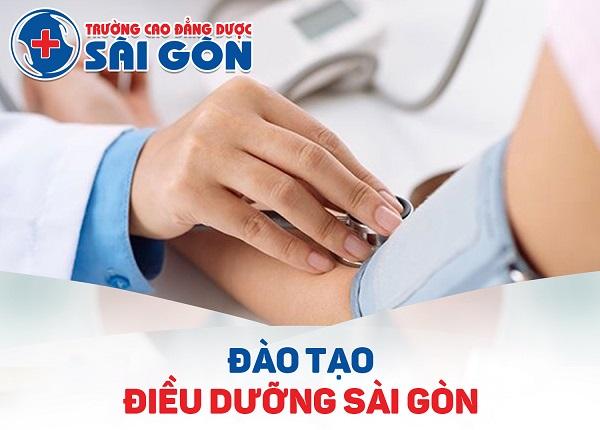 Trường Cao đẳng Dược Sài Gòn đào tạo Điều dưỡng Sài Gòn trình độ chuyên nghiệp