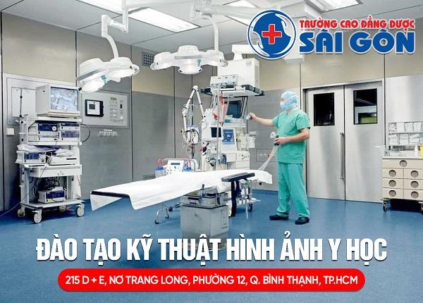 Trường Cao đẳng Dược Sài Gòn đào tạo Kỹ thuật hình ảnh Y học Sài Gòn chính quy năm 2019