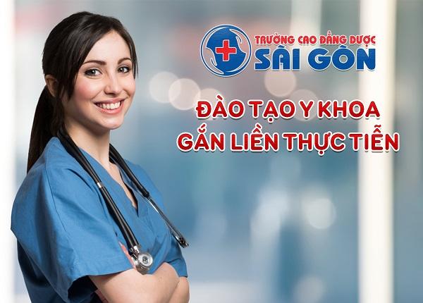 Sinh viên Trường Cao đẳng Dược Sài Gòn được đào tạo gắn liền với thực tế