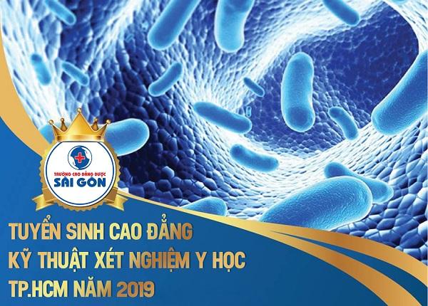 Trường Cao đẳng Dược Sài Gòn tuyển sinh Cao đẳng Kỹ thuật xét nghiệm Y học Tp.HCM năm 2019