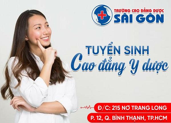 Thời Gian Tiếp Nhận Hồ Sơ Xét Tuyển Cao Đẳng Y Dược Sài Gòn Năm 2019