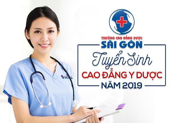 Thông Báo Tuyển Sinh Cao Đẳng Y Dược Sài Gòn Năm 2019