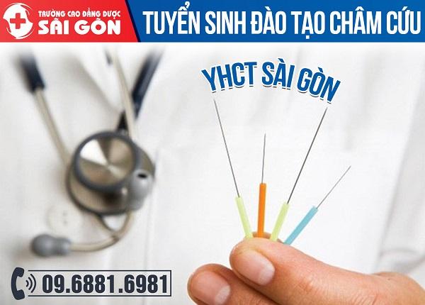 Trường Cao đẳng Dược Sài Gòn đào tạo chấm cứu YHCT
