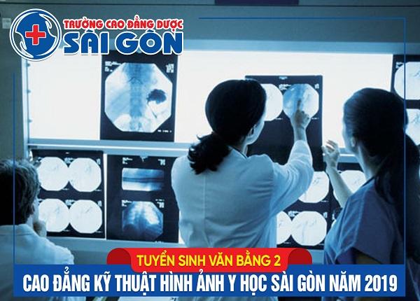 Trường Cao đẳng Dược Sài Gòn tuyến sinh Văn bằng 2 Cao đẳng Kỹ thuật hình ảnh Y học năm 2019