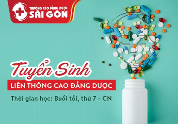 Trường Cao đẳng Dược Sài Gòn tuyển sinh Liên thông Cao đẳng Dược Sài Gòn năm 2019