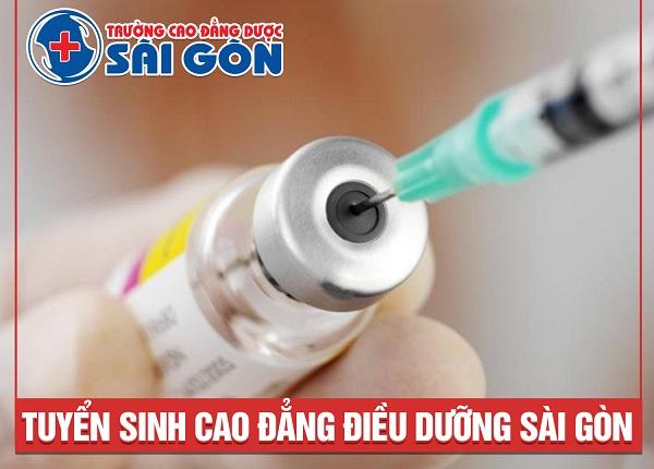 Xét tuyển Cao đẳng Điều dưỡng Sài Gòn năm 2019