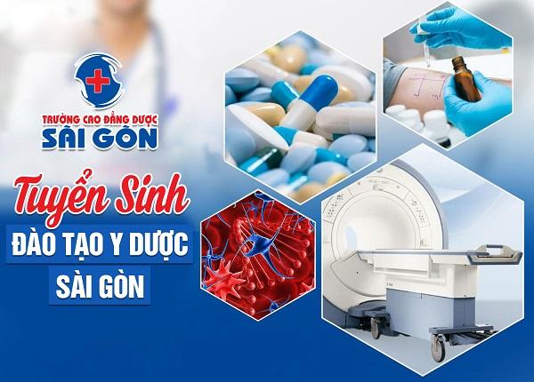 Trường Cao đẳng Dược Sài Gòn tuyển sinh đào tạo Y Dược Sài Gòn chất lượng