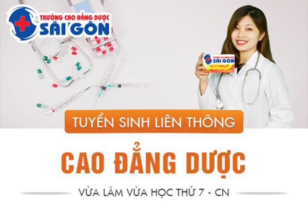 Thông Báo Tuyển Sinh Liên Thông Cao Đẳng Dược Sài Gòn Năm 2019