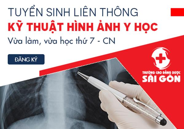 Trường Cao đẳng Dược Sài Gòn tuyển sinh Liên thông Cao đẳng Kỹ thuật hình ảnh Y học Sài Gòn