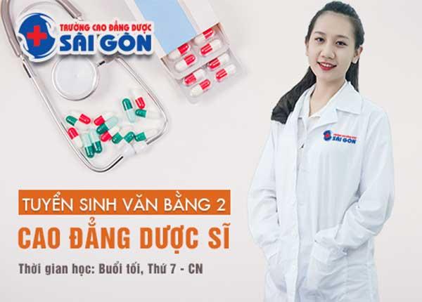 Tuyển sinh văn bằng 2 Cao đẳng Dược Sài Gòn học ngoài giờ hành chính