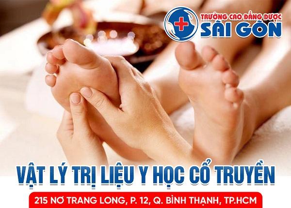 Trường Cao đẳng Dược Sài Gòn địa chỉ đào tạo Vật lý trị liệu YHCT chuyên nghiệp
