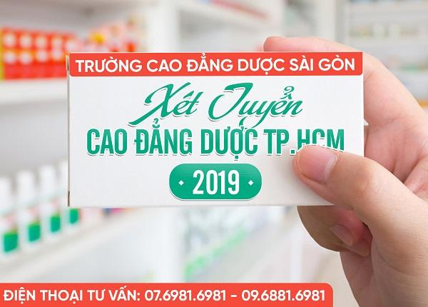 Trường Cao Đẳng Dược Sài Gòn Tuyển Sinh Cao đẳng Dược Chính Quy Năm 2019