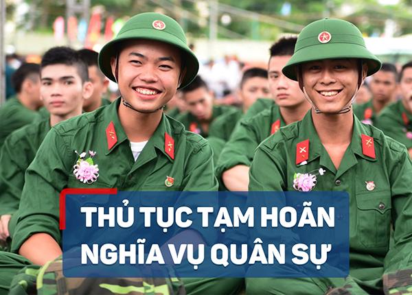 Hướng dẫn tạm hoãn nghĩa vụ quân sự với sinh viên trường cao đẳng dược sài gòn