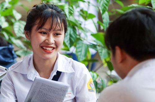 Thí sinh tham dự kỳ thi thpt quốc gia 2018