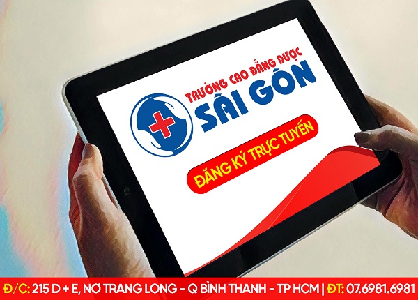 Trường Cao Đẳng Dược Sài Gòn tiến hành tuyển sinh trực tuyến Cao đẳng Dược năm 2019