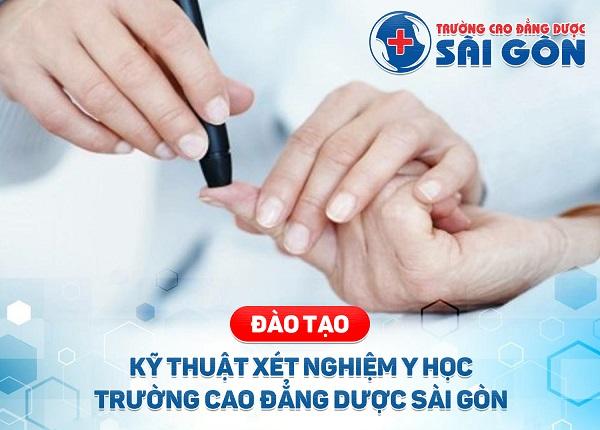 Trường Cao đẳng Dược Sài Gòn tuyển sinh Cao đẳng Kỹ thuật Xét nghiệm Y học Sài Gòn