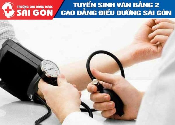 Trường Cao đẳng Dược Sài Gòn thông báo tuyển sinh Văn bằng 2 Cao đẳng Điều dưỡng