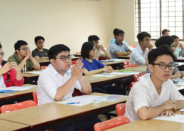 Học sinh tham dự kỳ thi đánh giá năng lực vào Đại học Luật năm trước