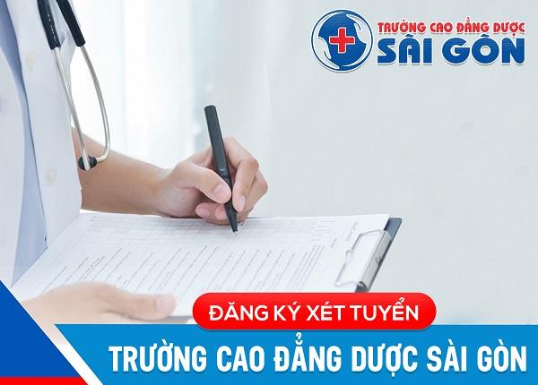 Đăng ký xét tuyển Cao đẳng Y Dược Sài Gòn 2019