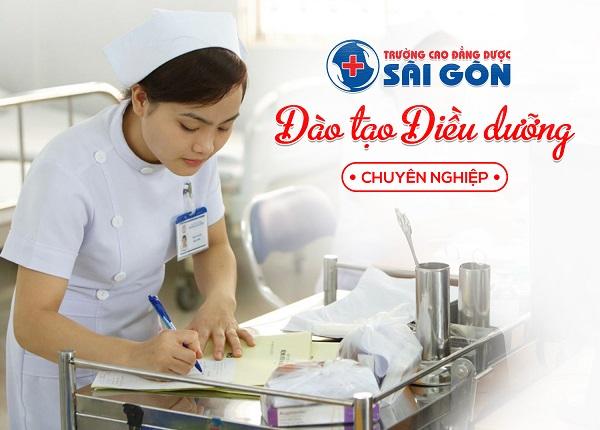 Trường Cao Đẳng Dược Sài Gòn đào tạo Điều dưỡng chú trong thực hành