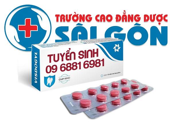 Trường Cao đẳng Dược Sài Gòn tuyển sinh năm 2019