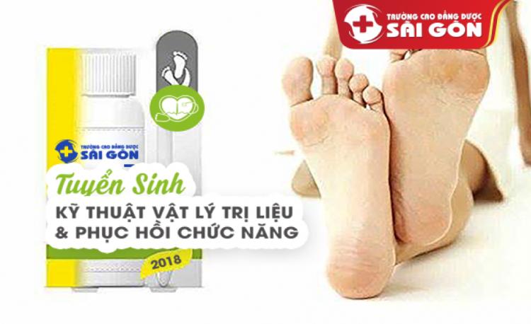 Tuyển Sinh Cao Đẳng Kỹ Thuật Vật Lý Trị Liệu Sài Gòn Năm 2019