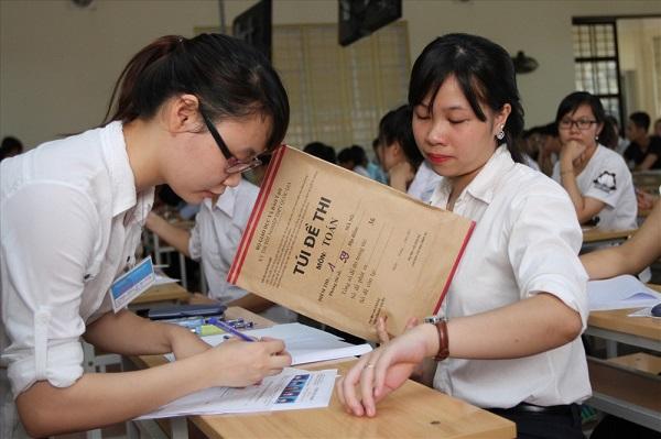 Đề thi thpt quốc gia là mối quan tâm của học sinh nhất lúc này
