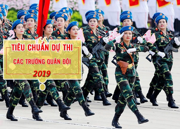 Danh Sách 12 Trường Quân Đội Tuyển Sinh Hệ Dân Sự Năm 2019
