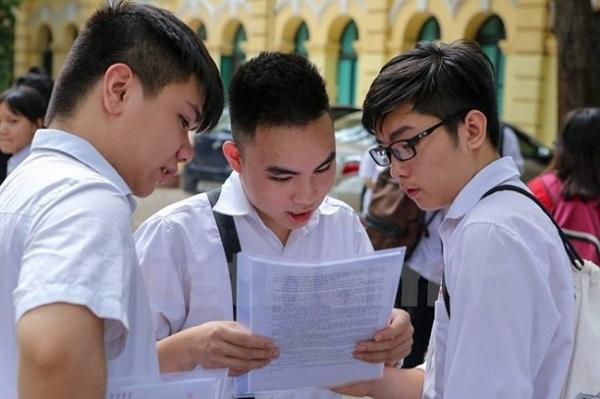 Học sinh tham dự kỳ thi thpt quốc gia năm 2018 để xét tốt nghiệp