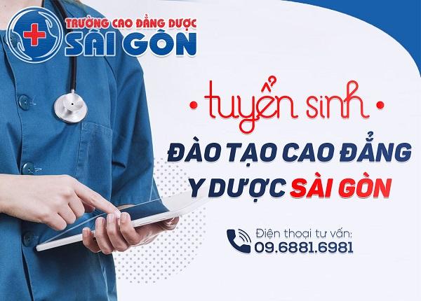 Thông tin tuyển sinh Trường Cao Đẳng Y Dược Sài Gòn 2019