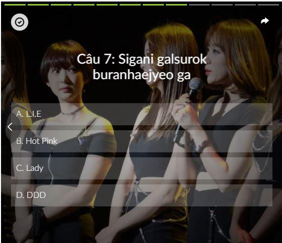 Các ca khúc của EXID