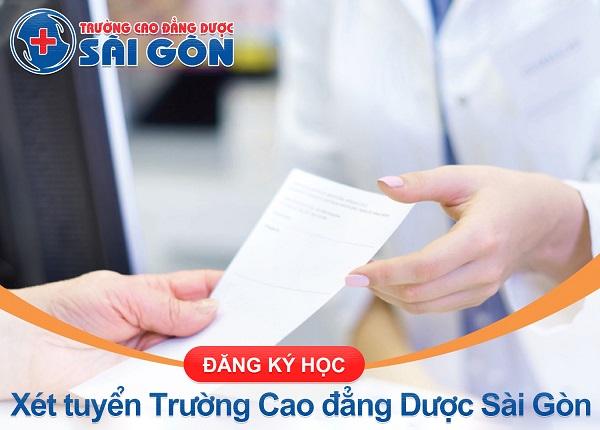 Đăng ký xét tuyển Trường Cao Đẳng Dược Sài Gòn