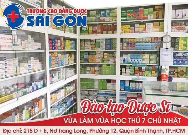 Trường Cao đẳng Dược Sài Gòn tuyển sinh đào tạo dược sĩ học ngoài giờ hành chính