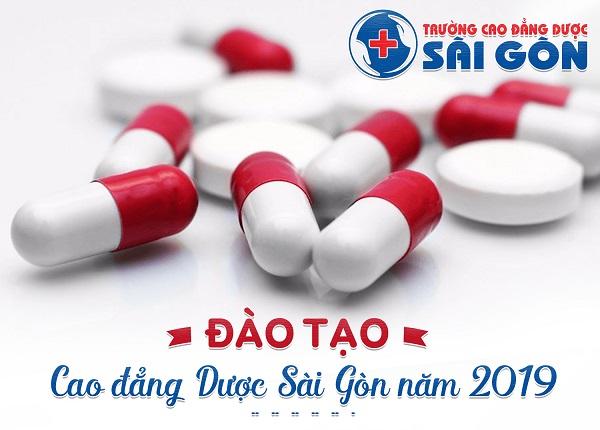 Trường Cao đẳng Dược Sài Gòn tuyển sinh đào tạo Cao đẳng Dược