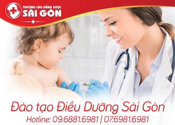 Đạo tạo Điều dưỡng Sài Gòn chuẩn Bộ y tế