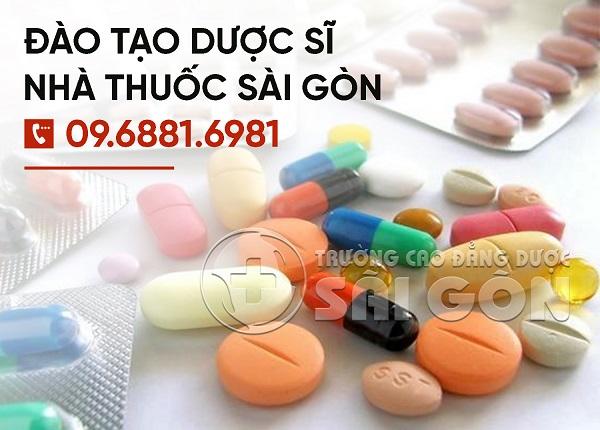 Tuyển sinh đào tạo Cao đẳng Dược tại Sài Gòn