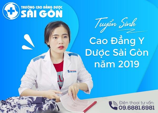 Tuyển sinh Cao đẳng Y Dược học tại Sài Gòn