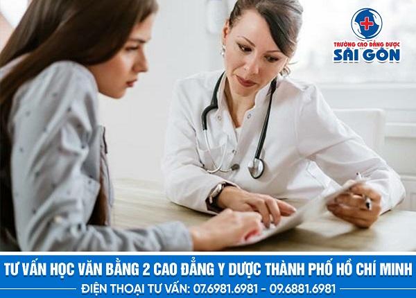 Tuyển sinh văn bằng 2 Cao đẳng Y Dược tại Sài Gòn