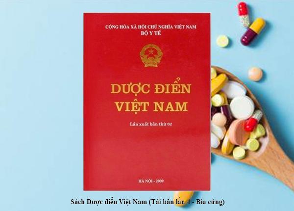 Cuốn sách Dược điển Việt Nam 4