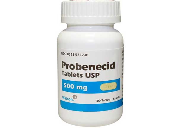 Thuốc Probenecid được chỉ định dùng điều trị bệnh Gout