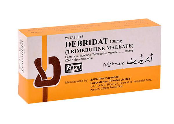 Debridat được sử dụng để điều trị các triệu chứng của hội chứng ruột kích thích IBS