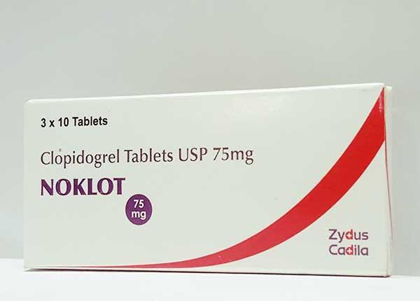 Hướng dẫn sử dụng thuốc Noklot 75mg đúng cách